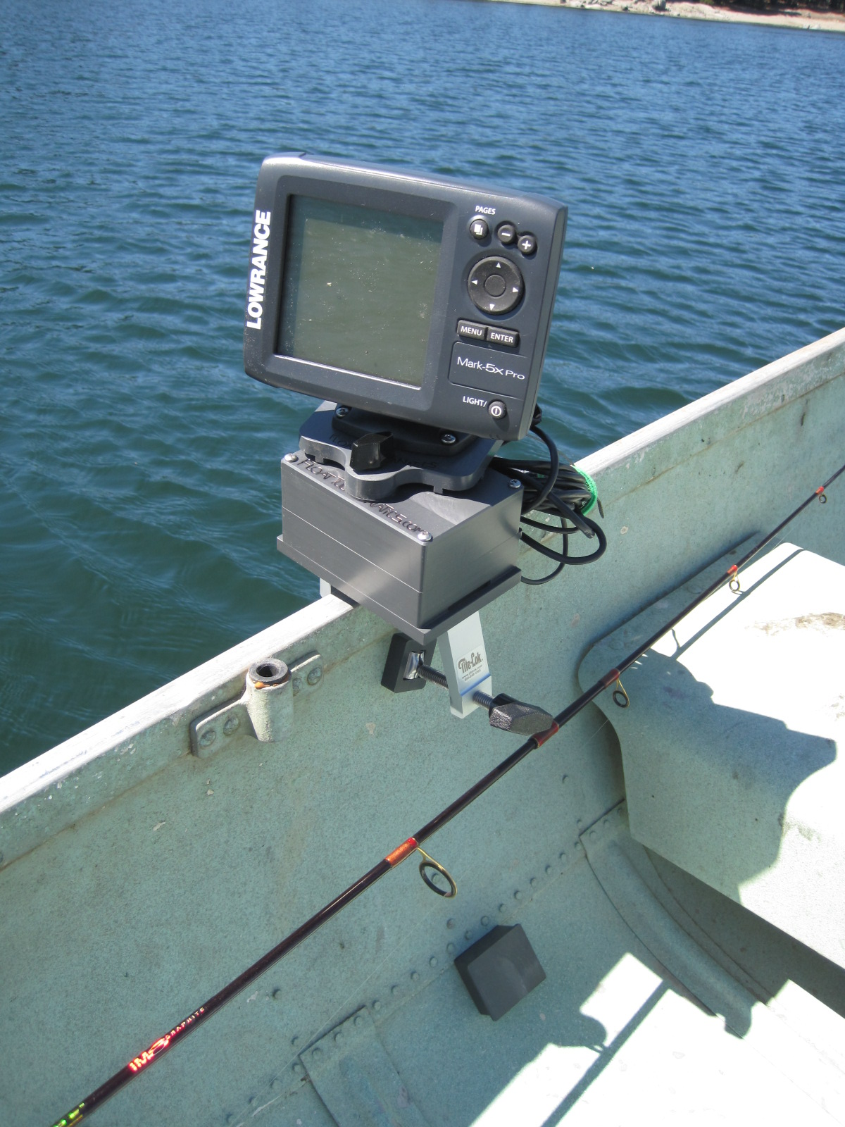 fish finder and transducer mounting solutions new low