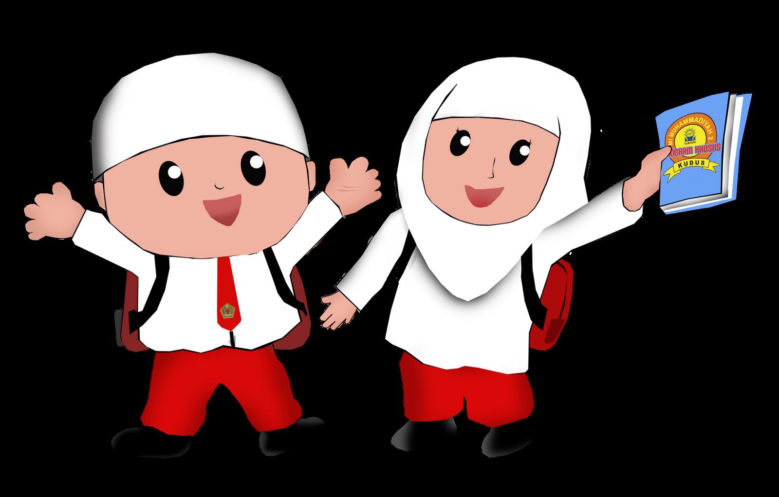 10 Gambar Kartun Islami Keren Gambar Kartun Lucu Dan Wallpaper Keren