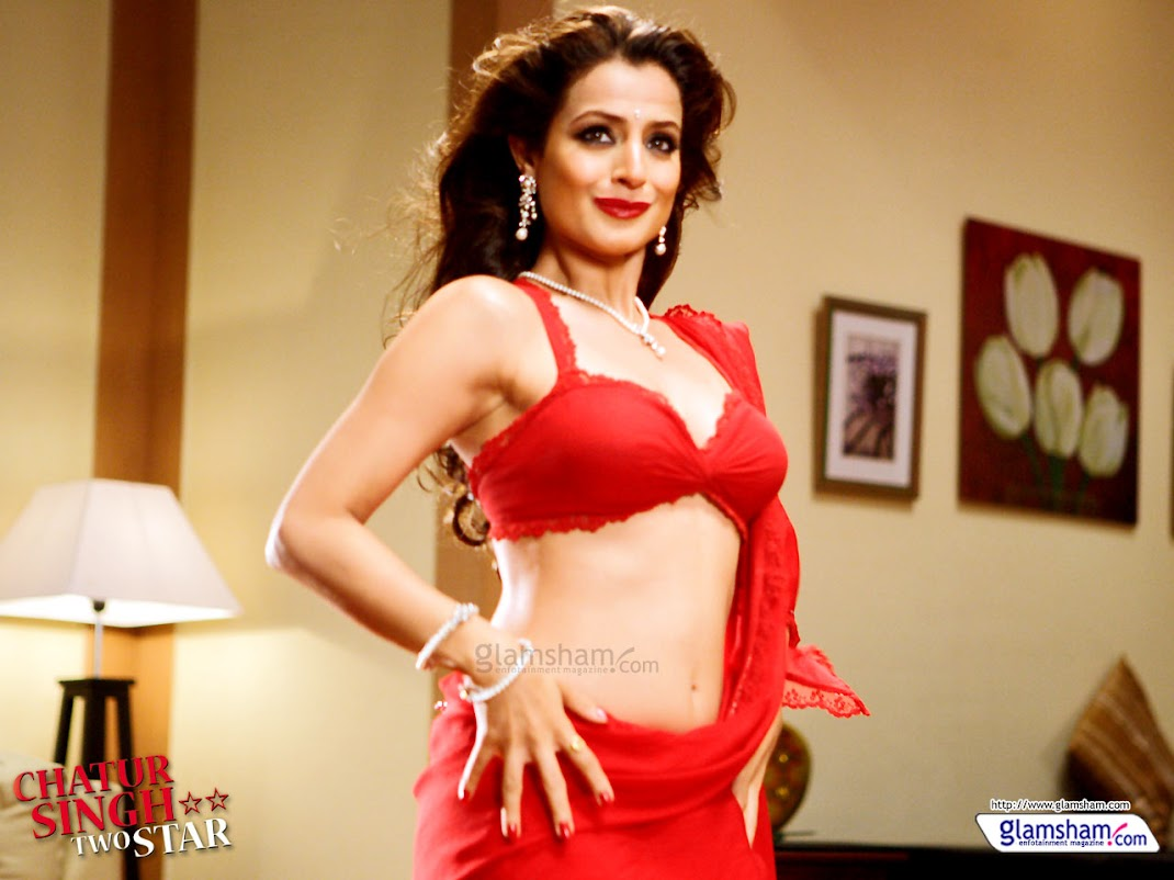 Amisha Patel Wallpapers - Chatur Singh Two star