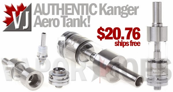 Authentic Kangertech AeroTank Clearo with Airflow Control