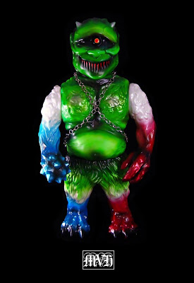 Frankenruge Homage Ollie Vinyl Figure by LASH