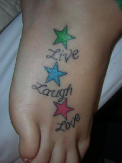 Star Foot Tattoo Designs For Girls Picture 3 Good Ideas A T