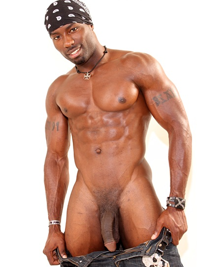 from Paul gay black muscle thug