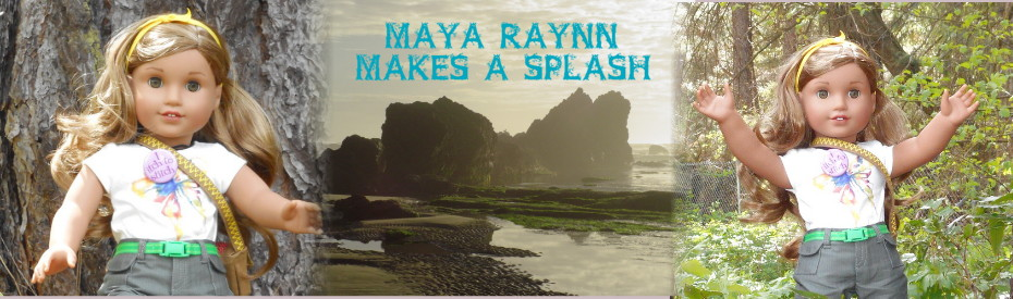 Maya Raynn Makes A Splash