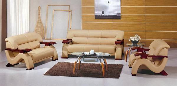 Muebles modernos de madera para sala: hermosos muebles de madera ...