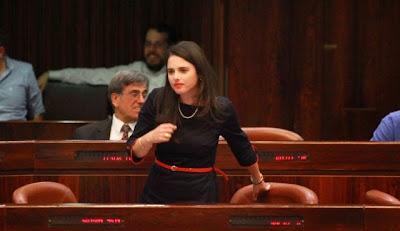 Provocação à ministra de Justiça israelense gera medidas especiais de segurança