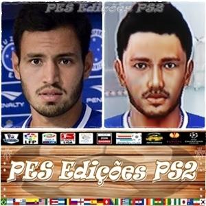 Juan Manuel Sánchez Miño (Cruzeiro) e Argentina PES PS2