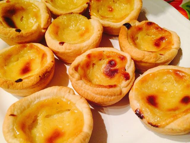 Portuguese custard tarts – Pasteis de Nata