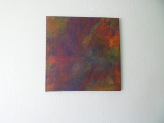 Squared 1-6 oil with mixed media 2013
