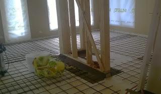 bertonilattian sisään tulee raudoitusverkot