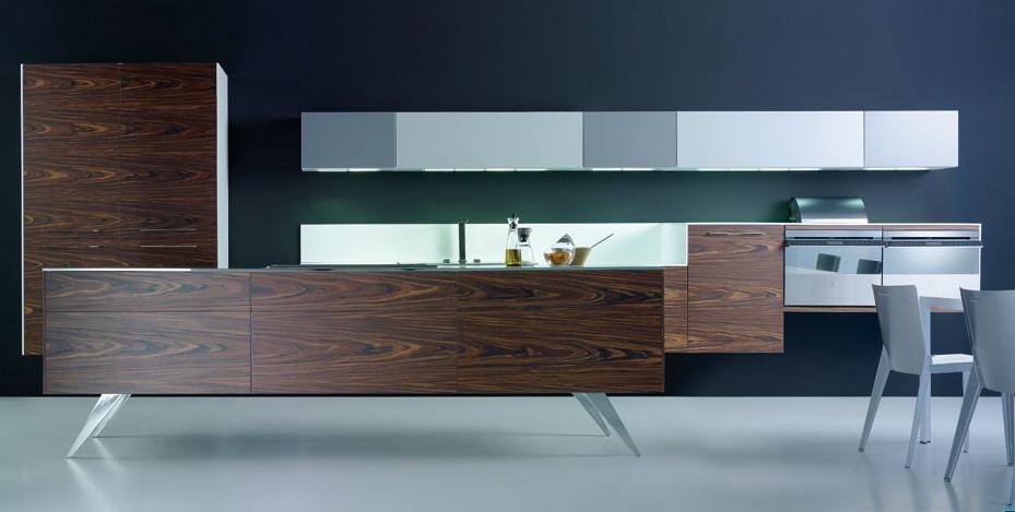 Muebles de cocina suspendidos: ligeros a la vista y resistentes al ...