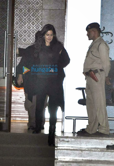 Aamir, Katrina & Abhishek snapped at the airport