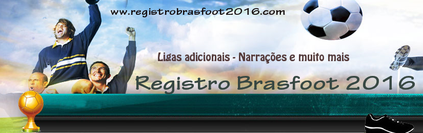 Registro Brasfoot 2016 Grátis - Baixar Brasfoot 2017
