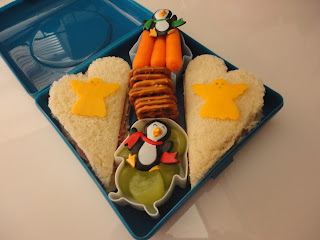 Angels, Christmas, bento school lunches