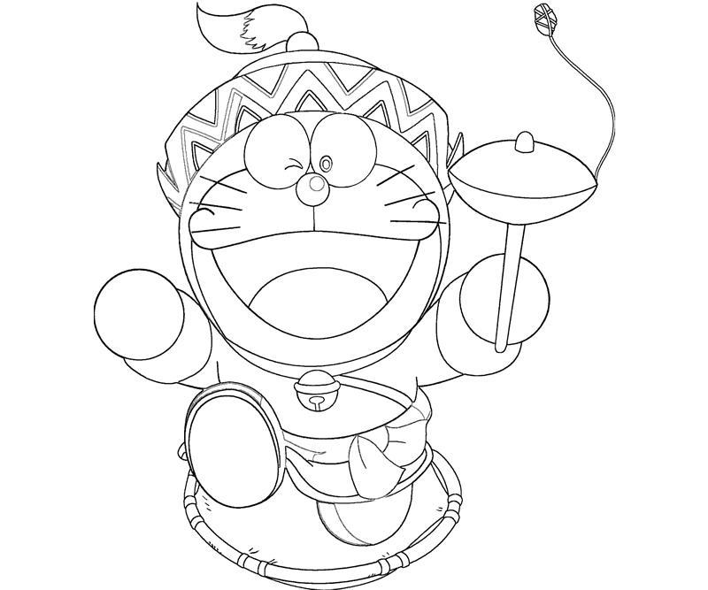 Doraemon 3 Coloring