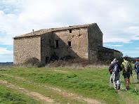 Arribant a la masia del Vilar