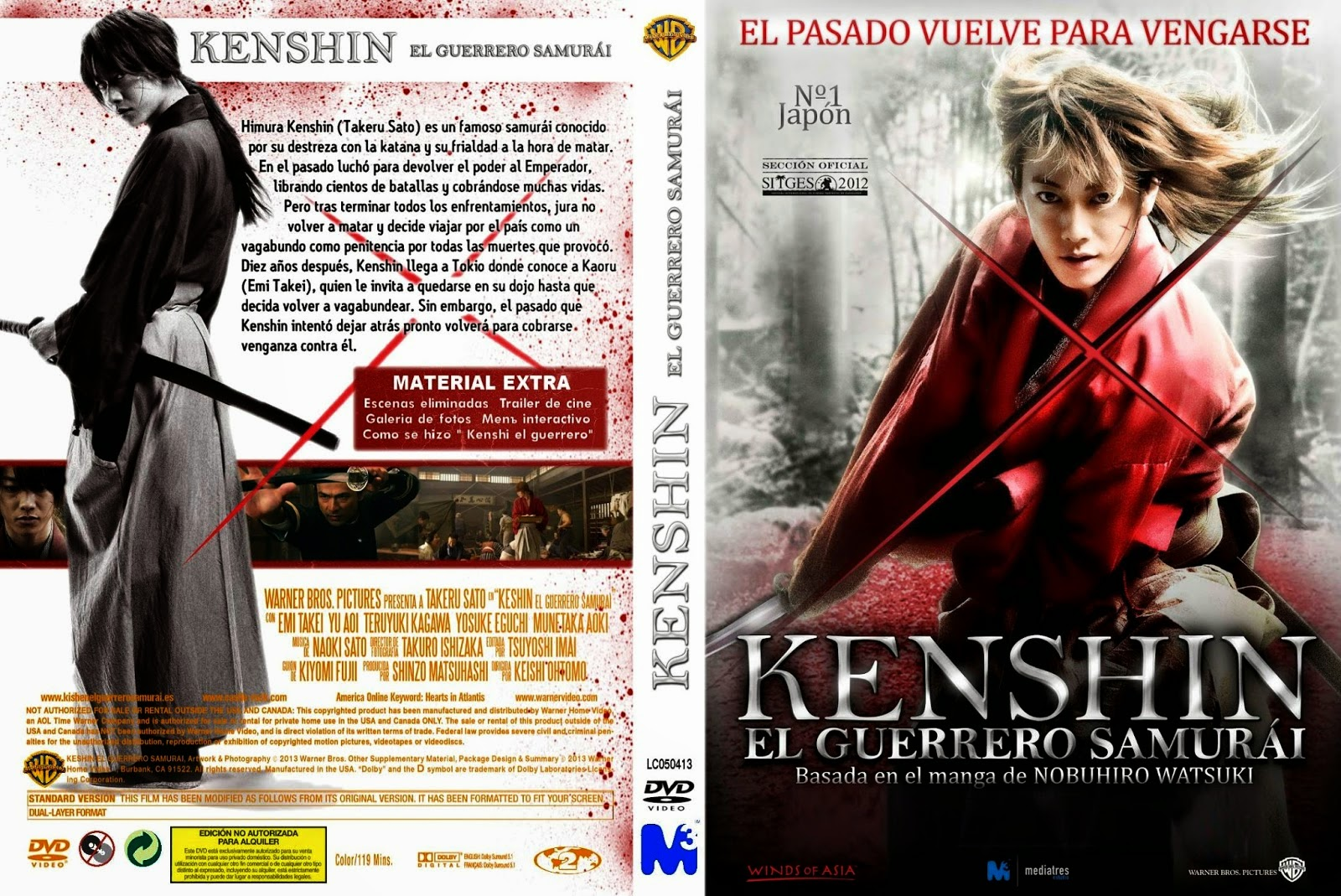 Kenshin el Guerrero Samurai DVD