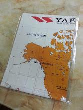 Yaesu World Amateur Radio Prefix Map