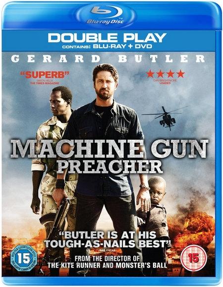 Machine Gun Preacher Bluray DVD Case Box
