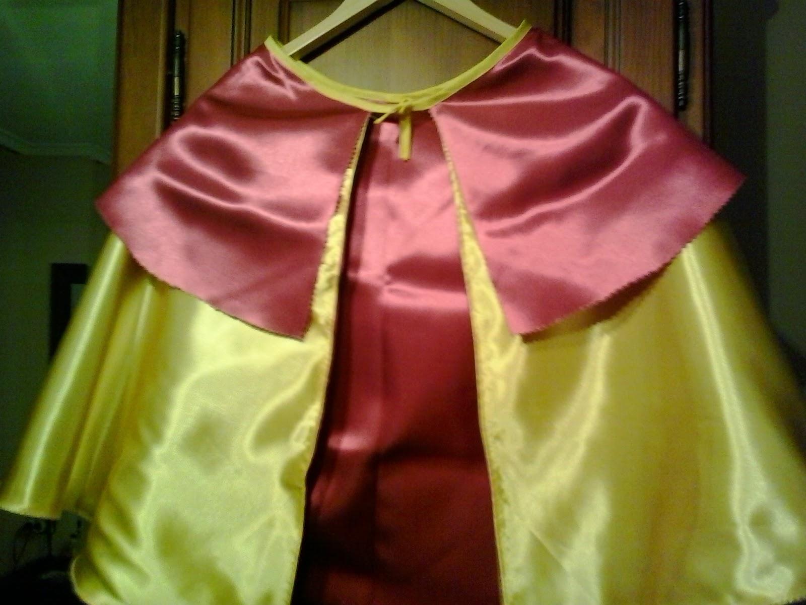 doble capa capitan salami fucsia y amarilla