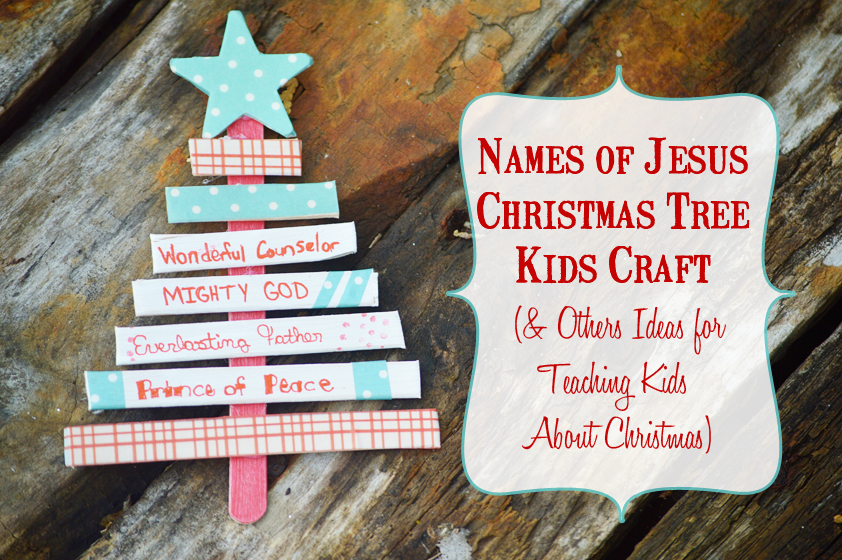 how to teach kids about jesus