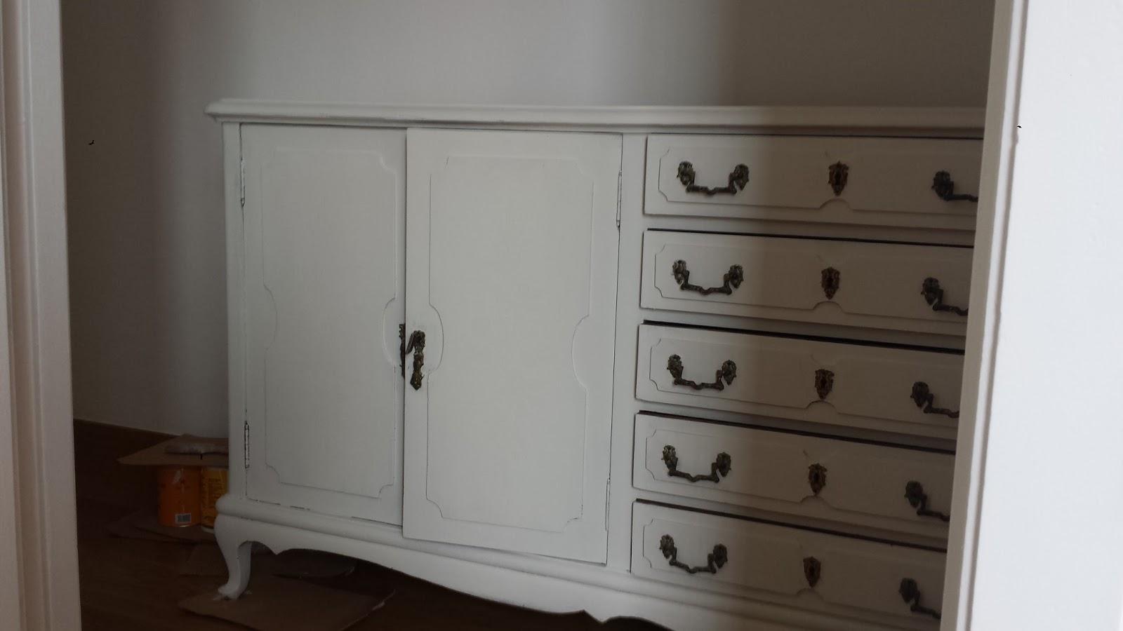 Candini muebles pintados nuevos y redecorados candini - Restauracion muebles barcelona ...