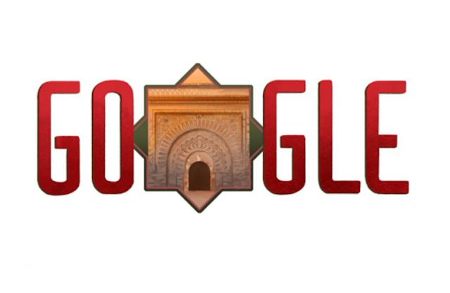 """""""غوغل"""" يشارك أفراحه لشعب المغربي بعيد الاستقلال"""