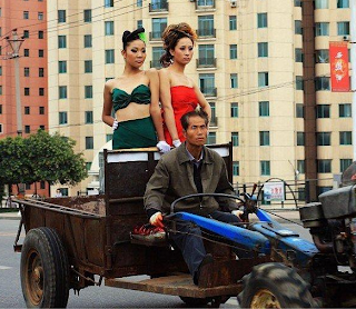 funny pictures of Chinese transport models