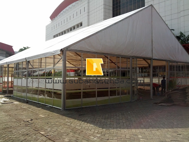 Manufakturing Roder, Tenda Roder Jakarta, Medium Span Tent