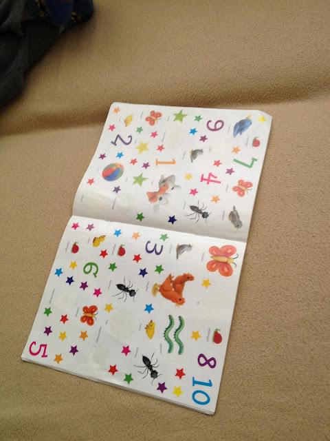 Stikerlar orta sayfada