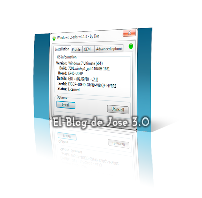 de activar Windows 7 Ultima Version | El Blog de Jose 3.0 | y no hay