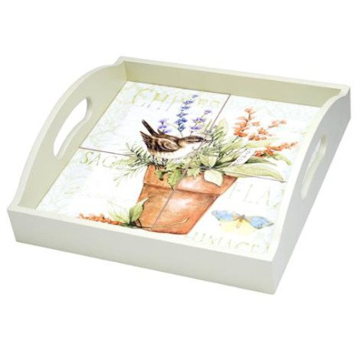 Hand-painted Serving Tray