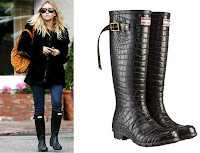 Hunter Boots Black4