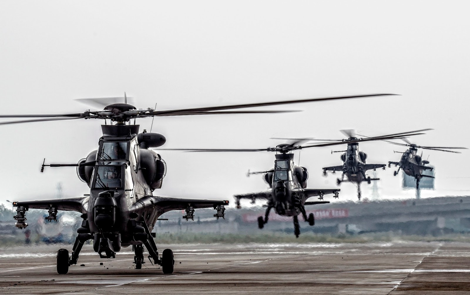 HQ Images of Chinese WZ-10 Gunship helicopters | Chinese ...