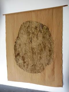 Grande peau de crue. Dimension 2m50 x2m50 Didier Rousseau-Navarre
