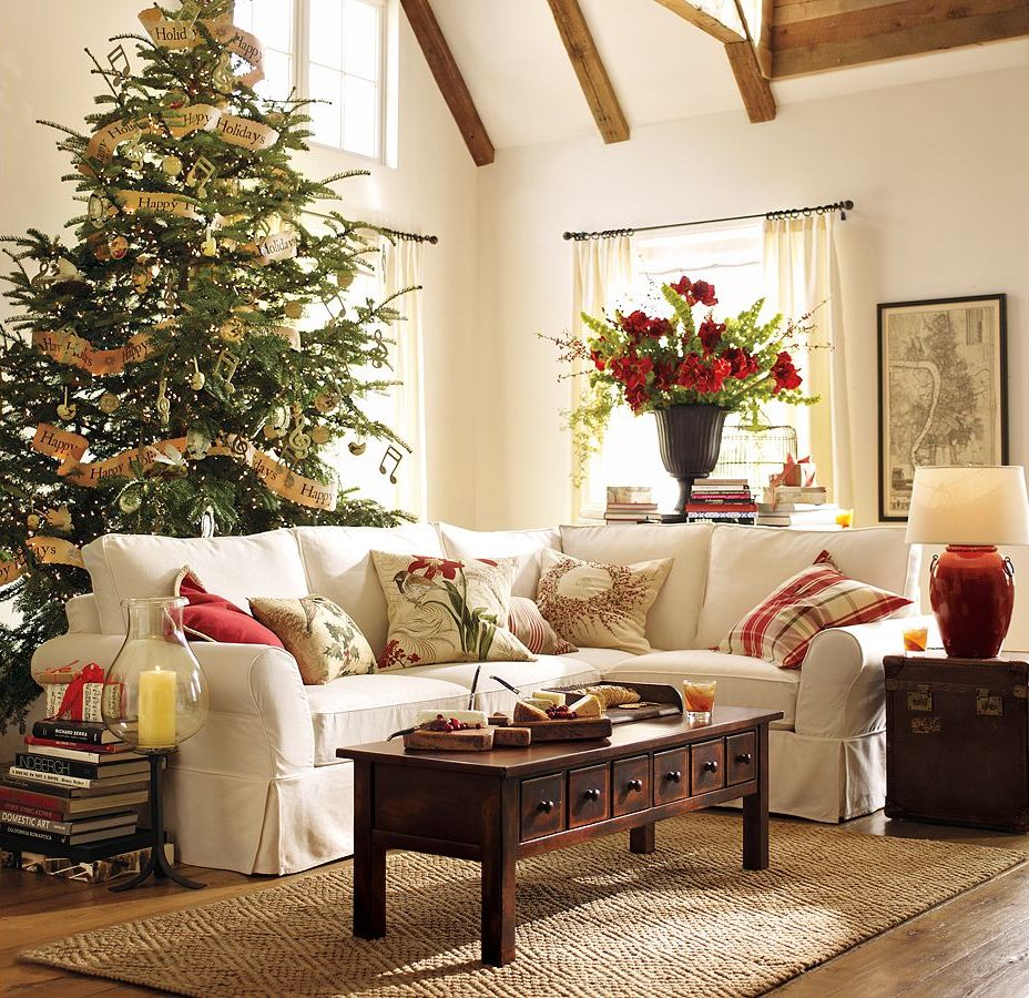 Pt indonesia 10 pretty christmas living rooms design Christmas decoration in living room
