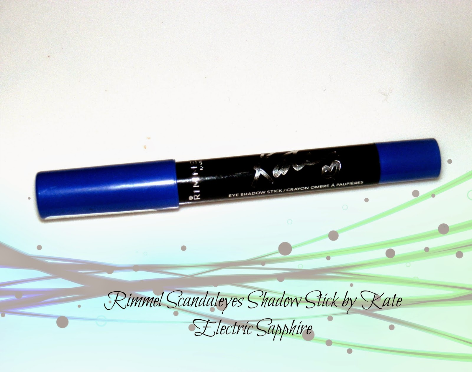 Rimmel Scandaleyes Shadow Stick by Kate Electric Sapphire