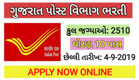POST VIBHAG MEGA BHARTI APPLY ONLINE BLOW LINK