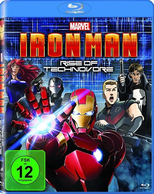 Iron Man: Rise of Technovore ไอรอน แมน ปะทะ จอมวายร้ายเทคโนมหาประลัย HD 2013