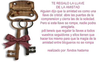 Premio llaves de la amistad