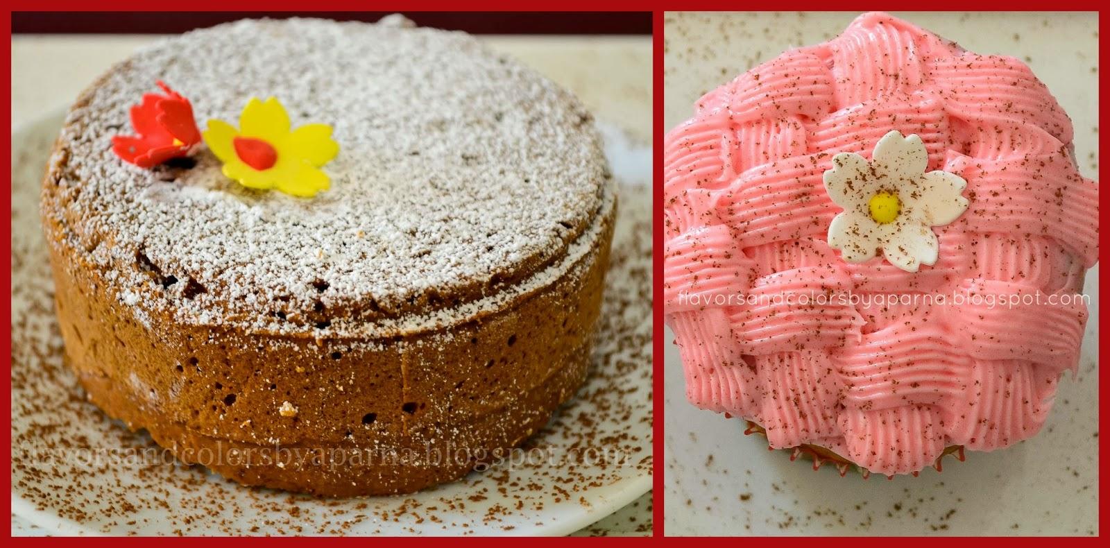 Apple Cinnamon Nutmeg Cake (Eggless) ~ Flavors N Colors