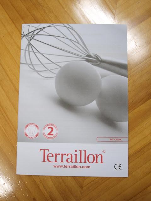法國 Terraillon My Cook 15 耐壓玻璃板料理電子秤 說明書
