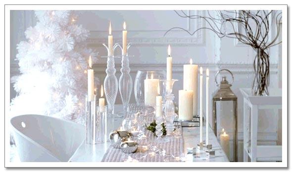 d3 interior design  white christmas