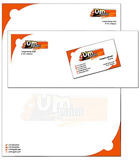 ... Cards, Letterhead & Envelopes Custom Design Tailored to Business theme
