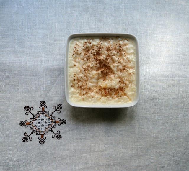 Arroz con leche pecaminoso con nata, receta casera