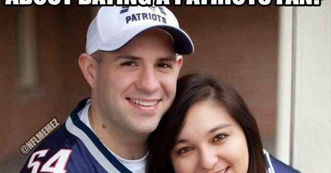 Good thing about dating a patriots fan