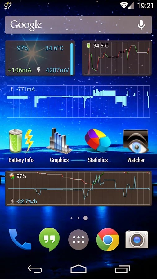 Battery Monitor Widget Pro v3.1.7 Apk