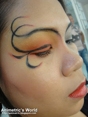 Avant Garde look created with Catwalk Cosmetics