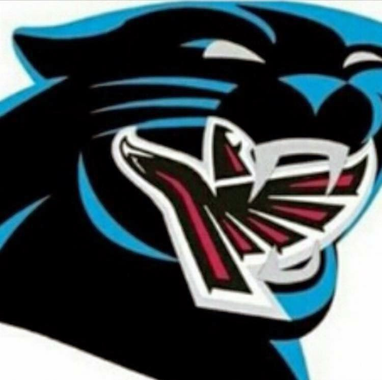 Panthers eating Falcons
