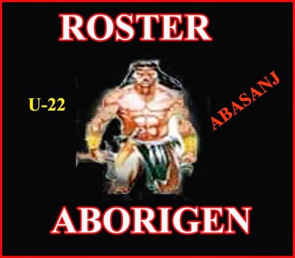 ROSTER ABORIGEN U-22